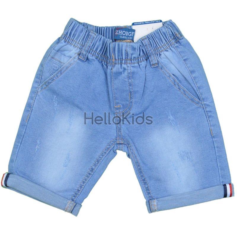 cca2599de78 Летни детски дънки с ластик Cool Boy