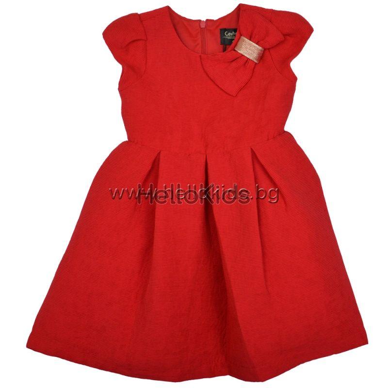 2098f3e268c Червена детска рокля Contrast