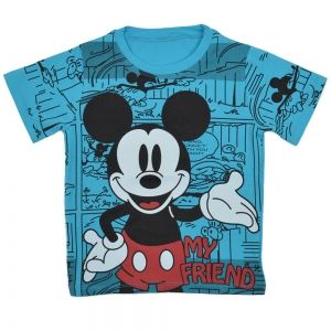 Детска тениска Mickey Friend в светлосиньо