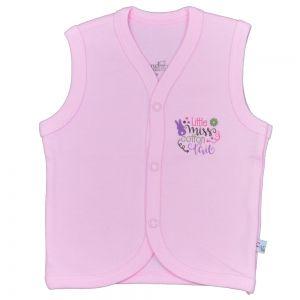 dfd5587d816 Памучен бебешки елек Sweet в розово