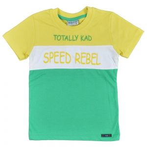 Памучна детска тениска Speed Rebel